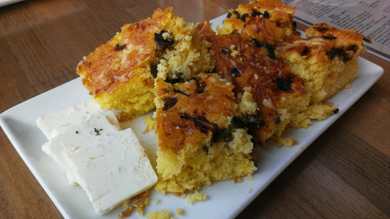 Carmelized Onion Corn Bread