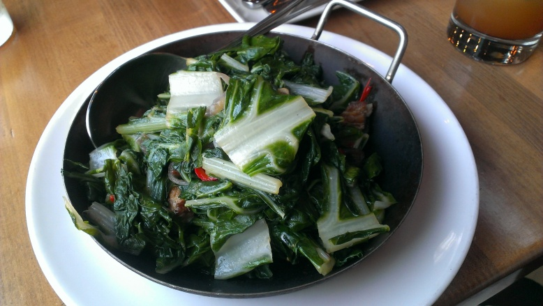 Pork Belly Braised Greens