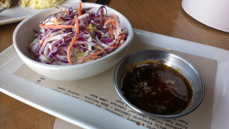 Slaw and Spicy Honey